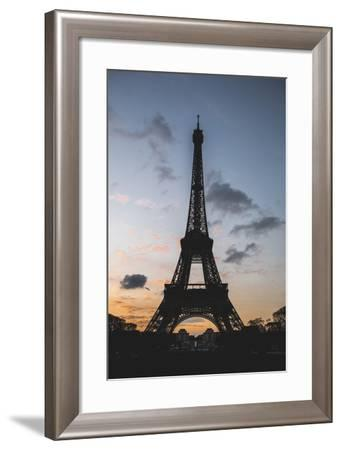 Eiffel Tower At Sunset-Lindsay Daniels-Framed Photographic Print