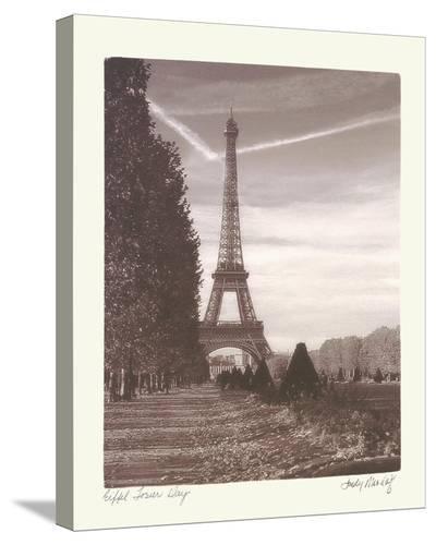 Eiffel Tower Day-Judy Mandolf-Stretched Canvas Print