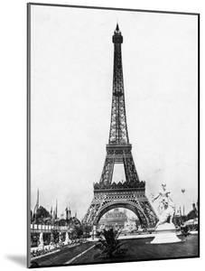 Eiffel Tower from Exhibition Grounds
