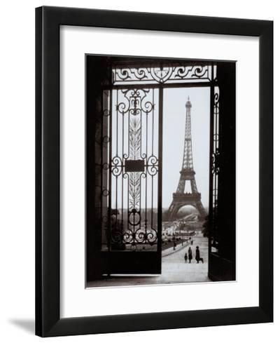 Eiffel Tower from the Trocadero-Gall-Framed Art Print