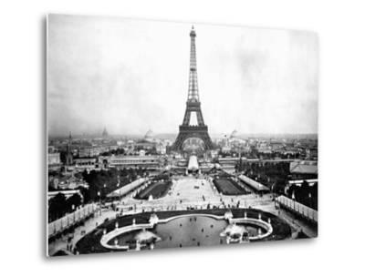 Eiffel Tower Over Exposition 1889