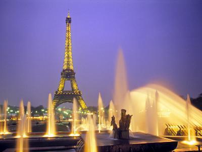 Eiffel Tower, Paris, France-Peter Adams-Photographic Print
