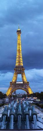 Eiffel Tower, Paris, Ile-De-France, France