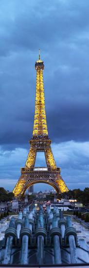 Eiffel Tower, Paris, Ile-De-France, France--Photographic Print