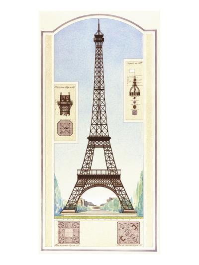 Eiffel Tower, Paris-Libero Patrignani-Art Print