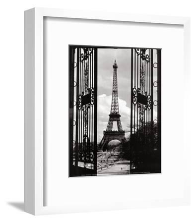 Eiffel Tower through the Gates