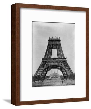 Eiffel Tower Under Construction