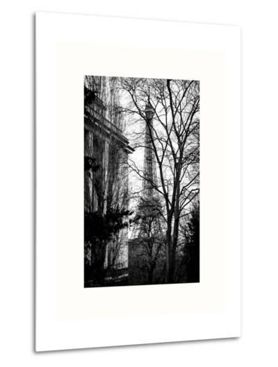 Eiffel Tower View of Winter Trocadero - Paris, France-Philippe Hugonnard-Metal Print