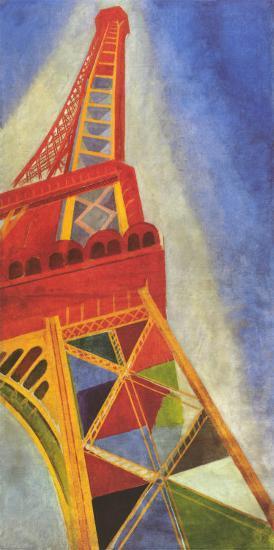 Eiffel Tower-Robert Delaunay-Art Print