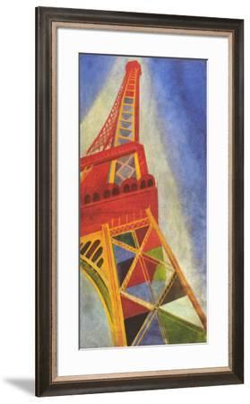 Eiffel Tower-Robert Delaunay-Framed Art Print