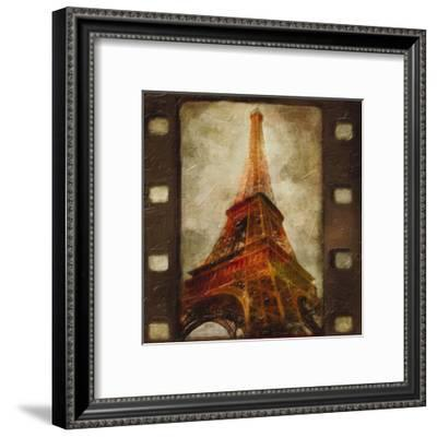 Eiffel Tower-Taylor Greene-Framed Art Print