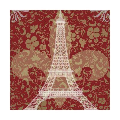 Eiffel Tower-Michelle Glennon-Giclee Print