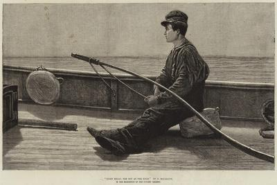 Eight Bells, the Boy at the Helm-Hamilton Macallum-Giclee Print