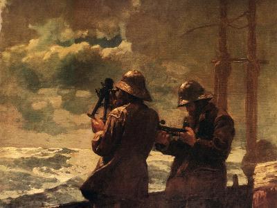 Eight Bells-Winslow Homer-Art Print