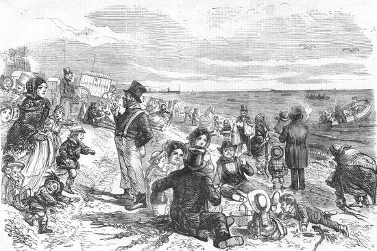 'Eight Hours at the Sea-Side', 1856-Unknown-Giclee Print