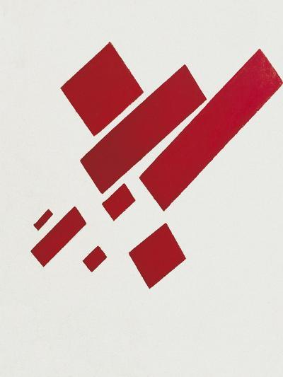 Eight Red Rectangles-Kasimir Malevich-Art Print