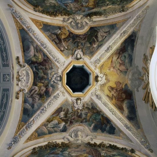 Eighteenth Century Frescoes by Giacomo Serpotta--Giclee Print