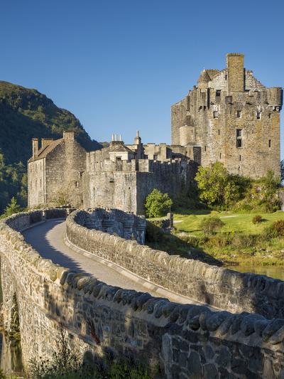 Eilean Donan Castle Along Loch Duich, Dornie, Highlands, Scotland-Brian Jannsen-Photographic Print