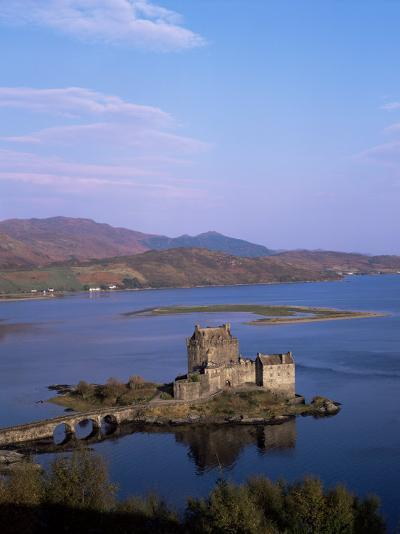 Eilean Donan Castle and Loch Duich, Highland Region, Scotland, United Kingdom-Hans Peter Merten-Photographic Print