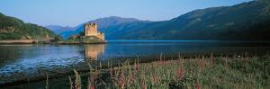 Eilean Donan Castle and Loch Duich Scotland