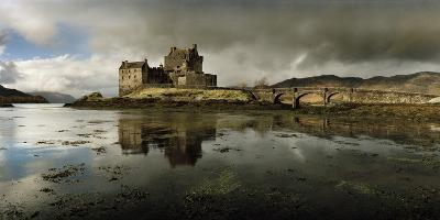 Eilean Donan Castle, Built on a Rocky Promontory at the Meeting Point of Three Sea Lochs-Macduff Everton-Photographic Print
