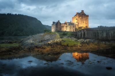 Eilean Donan Castle In Scotland-Philippe Manguin-Photographic Print