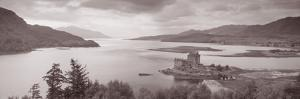 Eilean Donan Castle on Loch Alsh and Duich Scotland