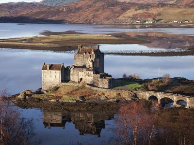 Eilean Donan Castle-Sean Caffrey-Photographic Print
