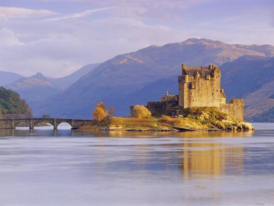 Eilean Donan (Eilean Donnan) Castle, Dornie, Highlands Region, Scotland, UK, Europe-Gavin Hellier-Photographic Print