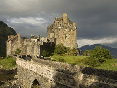 Eilean Donnan Castle, Near Dornie, Highlands, Scotland, United Kingdom, Europe-Richard Maschmeyer-Photographic Print