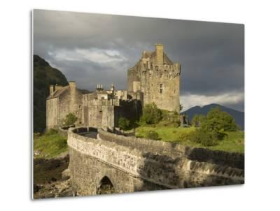 Eilean Donnan Castle, Near Dornie, Highlands, Scotland, United Kingdom, Europe-Richard Maschmeyer-Metal Print