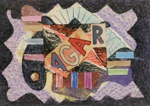 Initials, 1960 by Eileen Agar