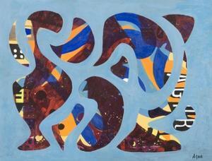 Intermingling, 1972 by Eileen Agar