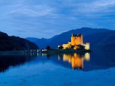 Eileen Donan Castle, Western Dornie in Highlands, Scotland-Bill Bachmann-Photographic Print