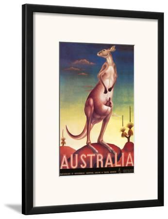 Australia, Airline & Travel Kangaroo c.1957