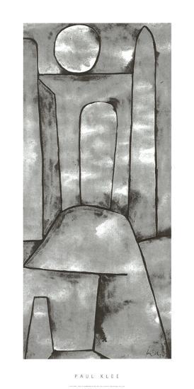 Ein Tor, c.1939-Paul Klee-Serigraph