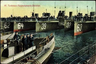 Eine Deutsche Torpedoboots Division,L20990--Giclee Print