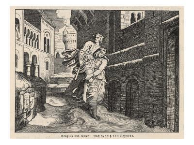 Einhard and Emma--Giclee Print