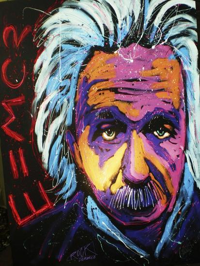 Einstein New 001-Rock Demarco-Giclee Print