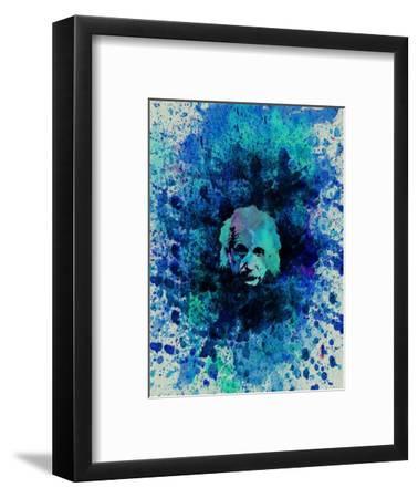 Einstein Watercolor 2-Anna Malkin-Framed Art Print