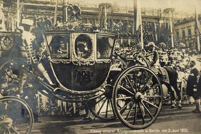 Einzug Der Kronprinzessin in Berlin 1905, Kutsche--Giclee Print