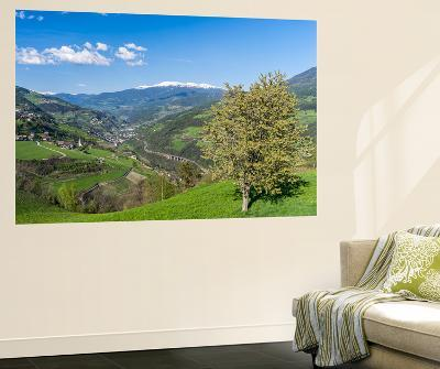 Eisack Valley Near Klausen and the Brenner Pass, South Tyrol, Italy-Martin Zwick-Giant Art Print