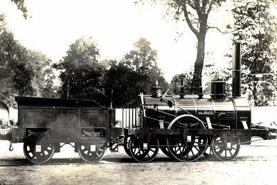 Eisenbahn, Belgien, Dampflok, John Cockerill En 1835--Giclee Print