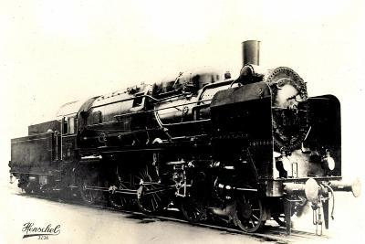 Eisenbahn, Deutschland, Dampflok, 2C3,20445, Henschel--Giclee Print