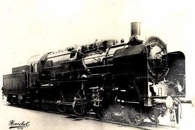 Eisenbahn, Deutschland, Dampflok, 2C3, Nr 20445--Giclee Print