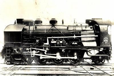 Eisenbahn, Frankreich, Dampflok, 231 G, No 87,P.L.M--Giclee Print