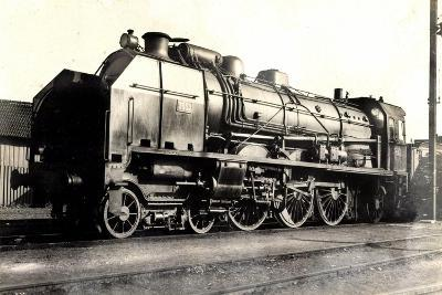 Eisenbahn, Frankreich, Dampflok, D 50, No 3652, P.O--Giclee Print