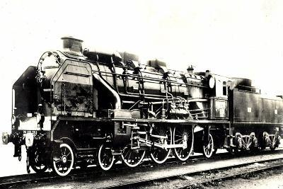 Eisenbahn, Frankreich, Dampflok, D 59, Pacific--Giclee Print