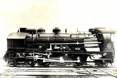Eisenbahn, Frankreich, Dampflok, P.L.M, Type Pacific--Giclee Print
