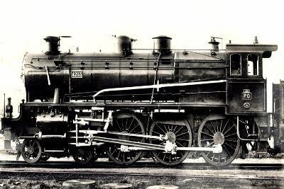 Eisenbahn, Frankreich, Dampflok, P.O. Midi, No 4203--Giclee Print